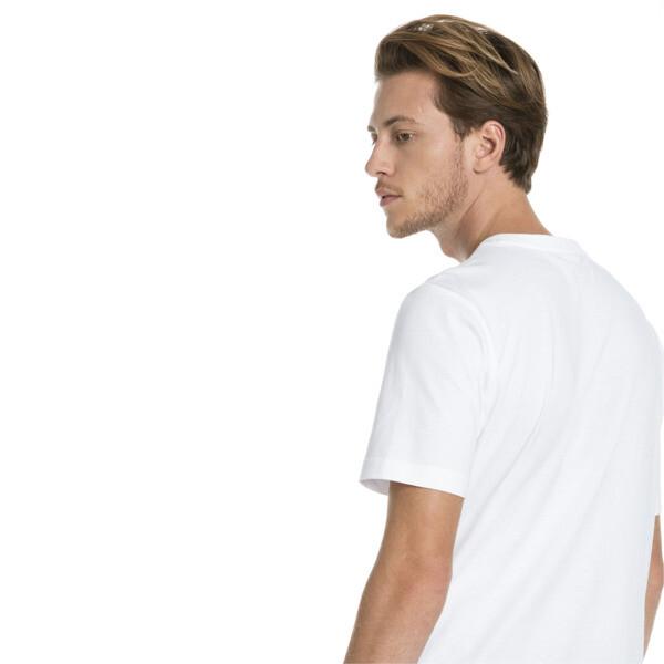 Classics Logo Short Sleeve Men's Tee, Puma White, large