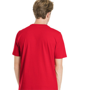 Imagen en miniatura 3 de Camiseta de manga corta con logo de hombre Classics, High Risk Red, mediana