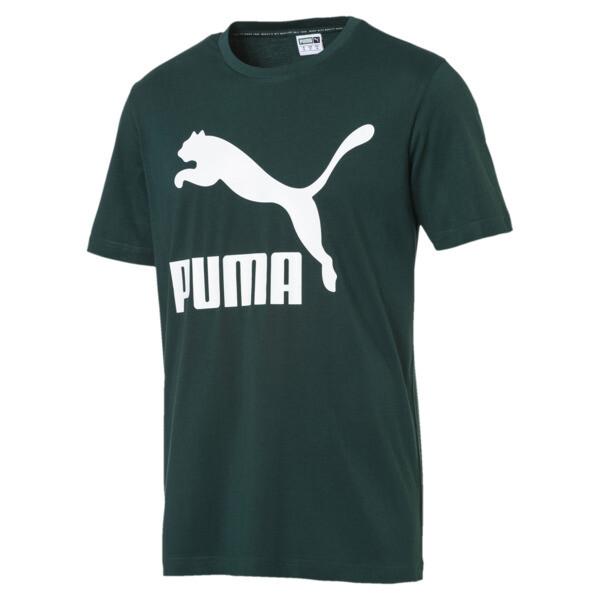 Camiseta de manga corta con logo de hombre Classics, Ponderosa Pine, grande