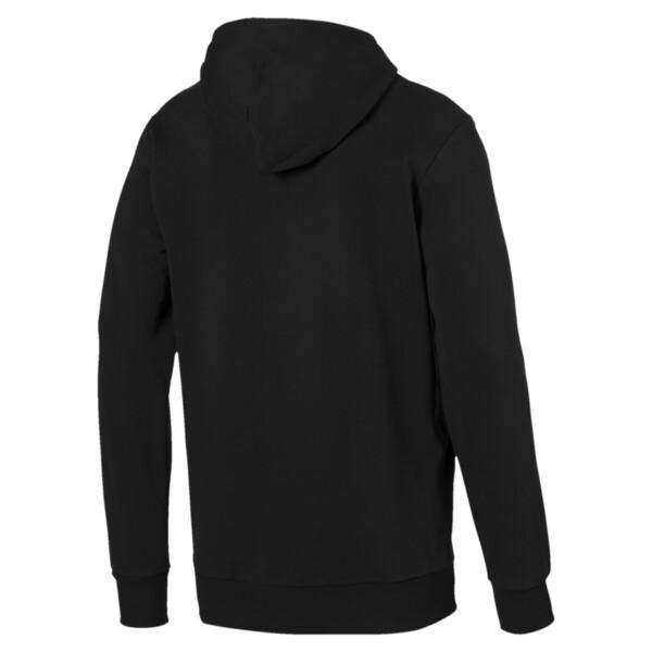 Classics Logo Men's Hoodie, Cotton Black, large