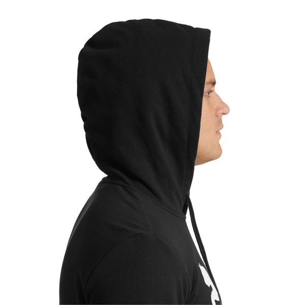 Classics Men's Logo Hoodie, Cotton Black, large