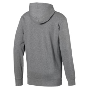 Thumbnail 5 of Classics Logo Men's Hoodie, Medium Gray Heather, medium