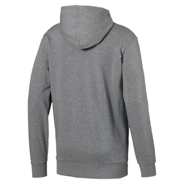 Classics Logo Men's Hoodie, Medium Gray Heather, large