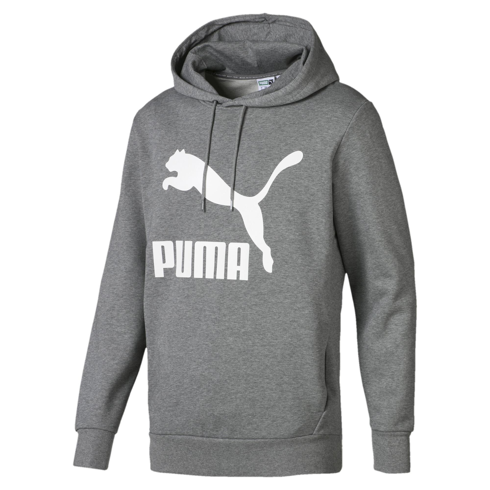 Image Puma Classics Logo Men's Hoodie #4