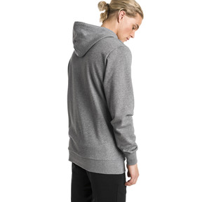 Thumbnail 2 of Classics Logo Men's Hoodie, Medium Gray Heather, medium