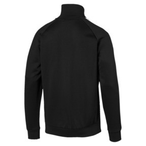 Thumbnail 5 of Iconic T7 Men's Track Jacket, Puma Black, medium