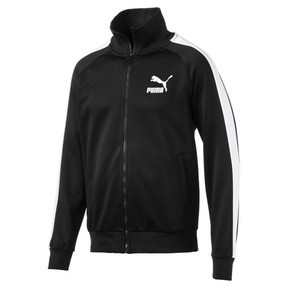 Thumbnail 4 of Iconic T7 Men's Track Jacket, Puma Black, medium