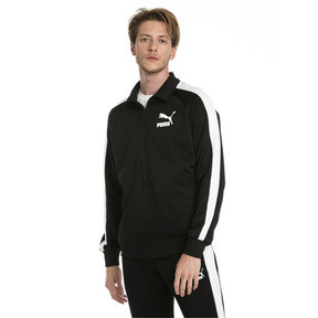 Thumbnail 1 of Iconic T7 Men's Track Jacket, Puma Black, medium