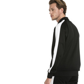Thumbnail 2 of Iconic T7 Men's Track Jacket, Puma Black, medium