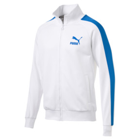 Thumbnail 1 of Iconic T7 PT Men's Track Jacket, Puma White, medium