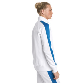 Thumbnail 3 of Iconic T7 PT Men's Track Jacket, Puma White, medium