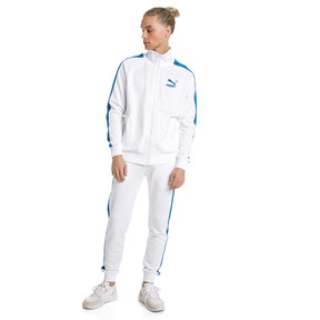 Thumbnail 5 of Iconic T7 PT Men's Track Jacket, Puma White, medium
