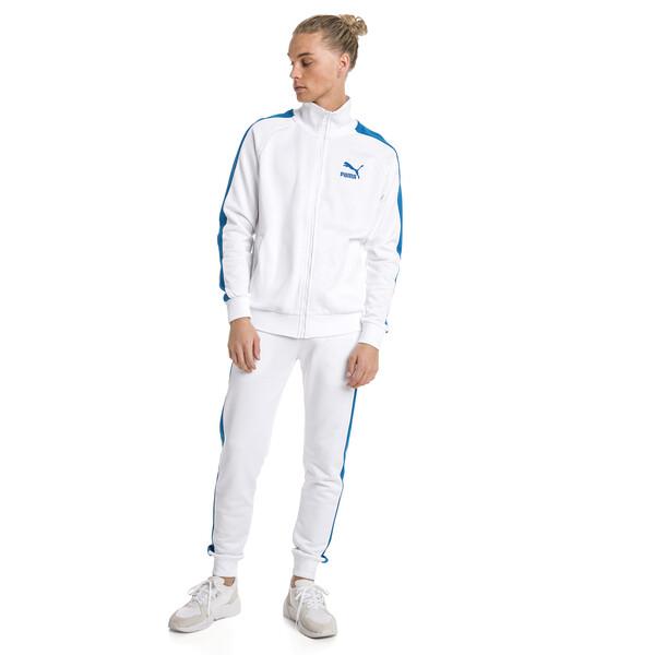 Iconic T7 PT Men's Track Jacket, Puma White, large