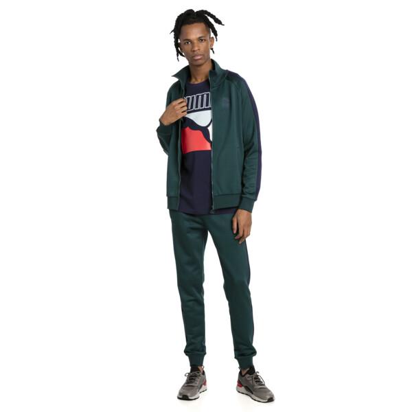 Iconic T7 PT Men's Track Jacket, Ponderosa Pine, large