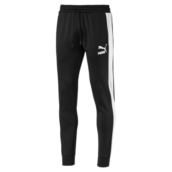 Iconic T7 Kntted Men's Sweatpants, Puma Black, large