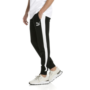 Thumbnail 1 of Iconic T7 Kntted Men's Sweatpants, Puma Black, medium