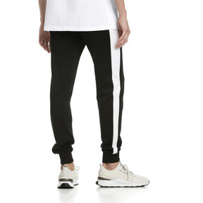 Thumbnail 2 of Iconic T7 Kntted Men's Sweatpants, Puma Black, medium