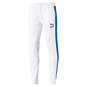 Thumbnail 1 of Iconic T7 Kntted Men's Sweatpants, Puma White, medium