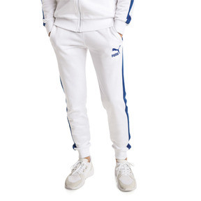 Thumbnail 2 of Iconic T7 Kntted Men's Sweatpants, Puma White, medium