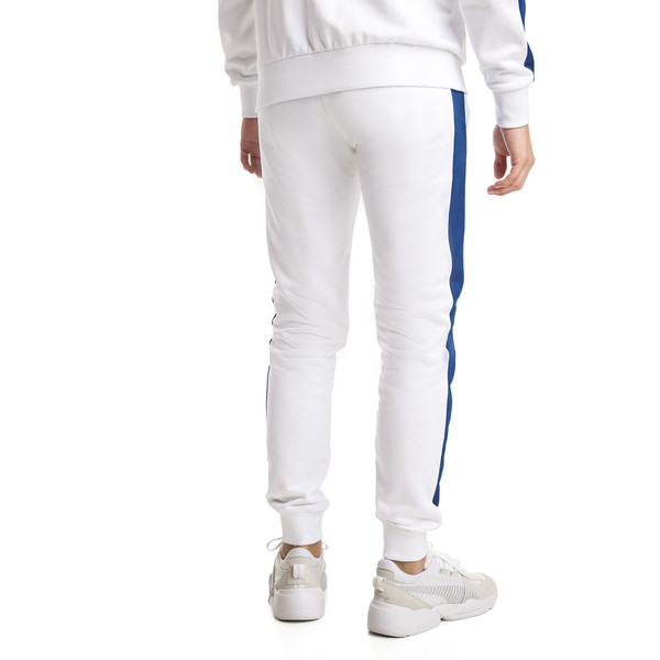 Iconic T7 Kntted Men's Sweatpants, Puma White, large