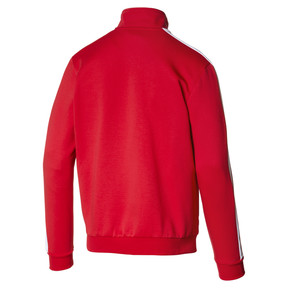 Thumbnail 4 of Archive Iconic T7 Double Knit Men's Track Jacket, High Risk Red, medium