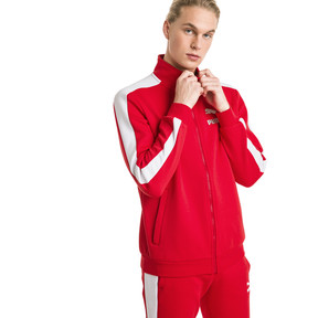 Thumbnail 2 of Archive Iconic T7 Double Knit Men's Track Jacket, High Risk Red, medium