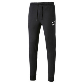Thumbnail 4 of Pantalon de sweat avec bas de jambe fermés Classics pour homme, Cotton Black, medium