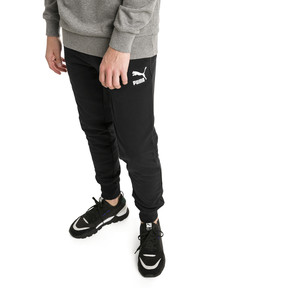 Thumbnail 1 of Pantalon de sweat avec bas de jambe fermés Classics pour homme, Cotton Black, medium
