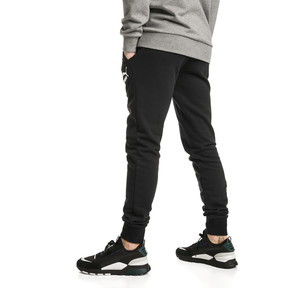 Thumbnail 2 of Pantalon de sweat avec bas de jambe fermés Classics pour homme, Cotton Black, medium