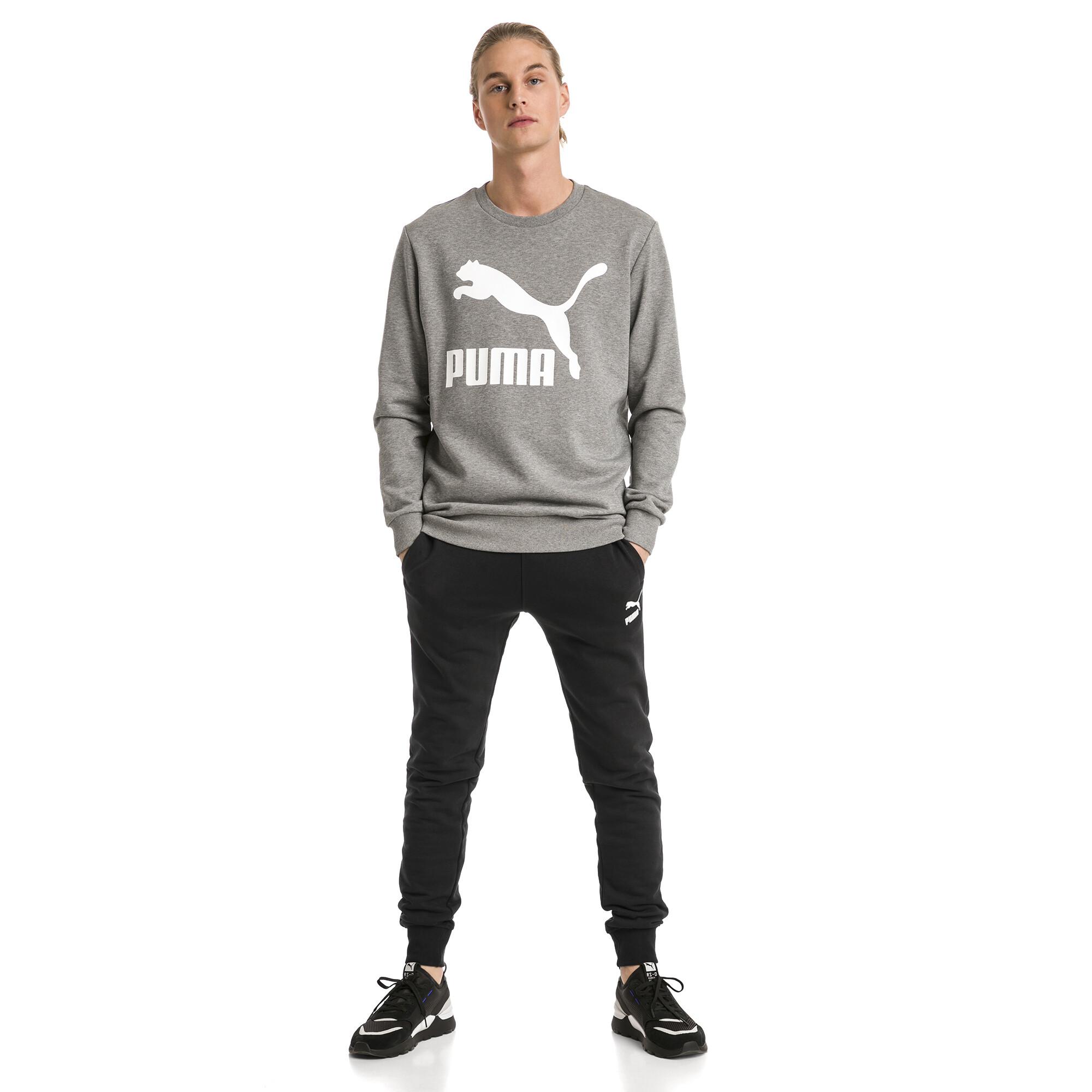 Image Puma Classics Cuffed Men's Sweatpants #3