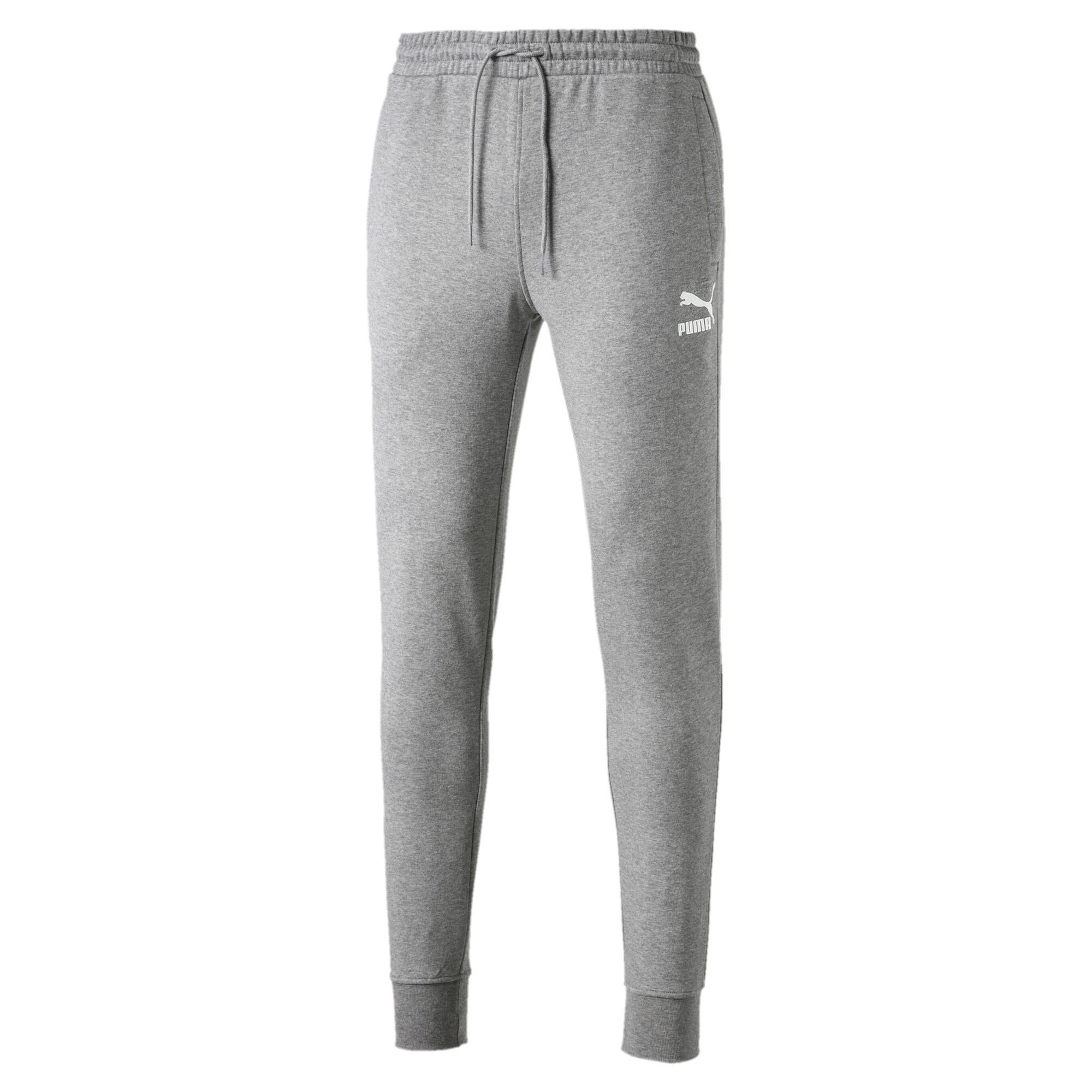Image Puma Classics Cuffed Men's Sweatpants #4