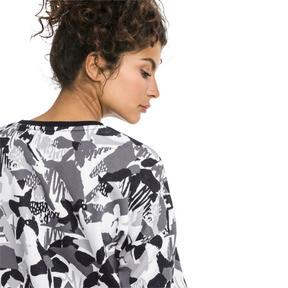 Thumbnail 3 of Classics Logo Allover-Print Damen Sweatshirt, Cotton Black, medium