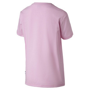 Thumbnail 4 of Downtown Short Sleeve Women's tee, Pale Pink, medium