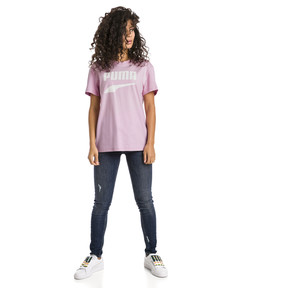 Thumbnail 5 of Downtown Short Sleeve Women's tee, Pale Pink, medium