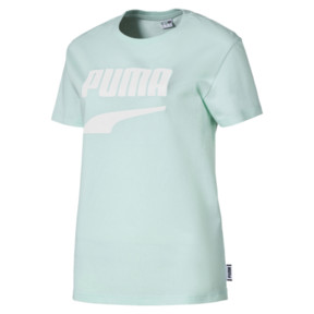 Thumbnail 1 of Downtown Short Sleeve Women's tee, Aquifer, medium