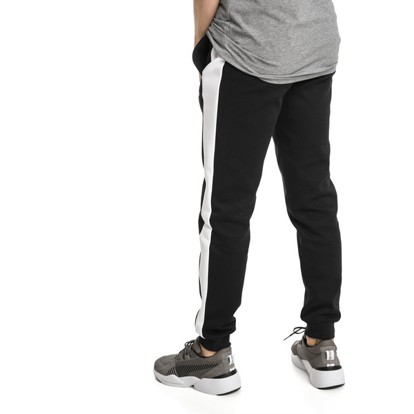 Archive Iconic T7 Double Knit Men's Track Pants, Cotton Black, large