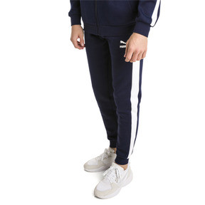 Thumbnail 2 of Archive Iconic T7 Double Knit Men's Track Pants, Peacoat, medium