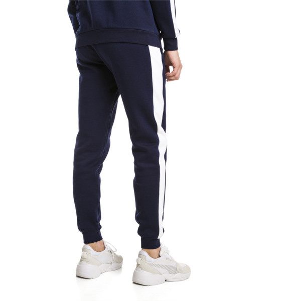 Archive Iconic T7 Double Knit Men's Track Pants, Peacoat, large