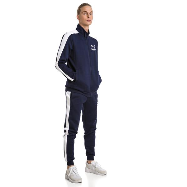 Pantalon de survêtement à double tricot Archive Iconic T7 pour homme, Peacoat, large