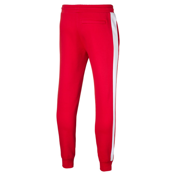 Archive Iconic T7 Double Knit Men's Track Pants, High Risk Red, large