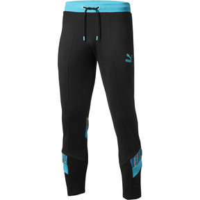 Thumbnail 1 of PUMA x COOGI Men's  Track Pants, Puma Black-Blue Atoll, medium