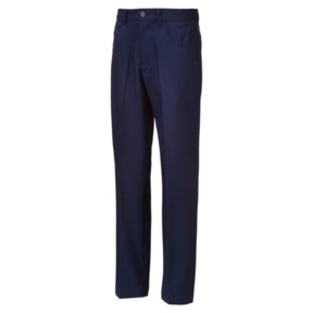 Thumbnail 1 of 5 Pocket Woven Boys' Golf Pants, Peacoat, medium