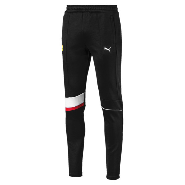 Ferrari T7 Men's Sweatpants, Puma Black, large