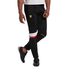 Thumbnail 1 of Scuderia Ferrari Men's T7 Track Pants, Puma Black, medium