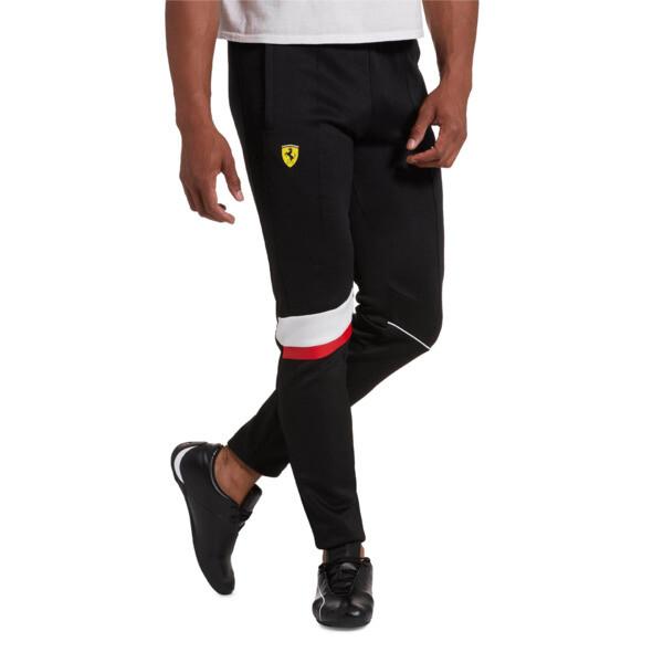 Scuderia Ferrari Men's T7 Track Pants, Puma Black, large