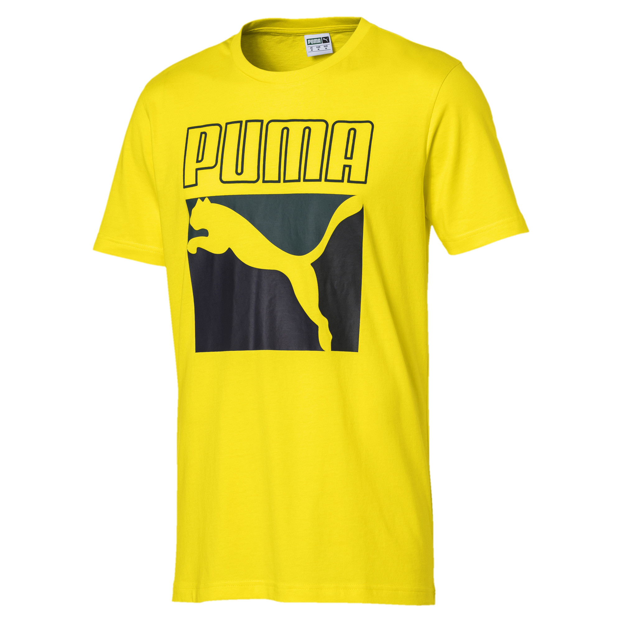Image Puma Graphic Box Logo Men's Tee #2