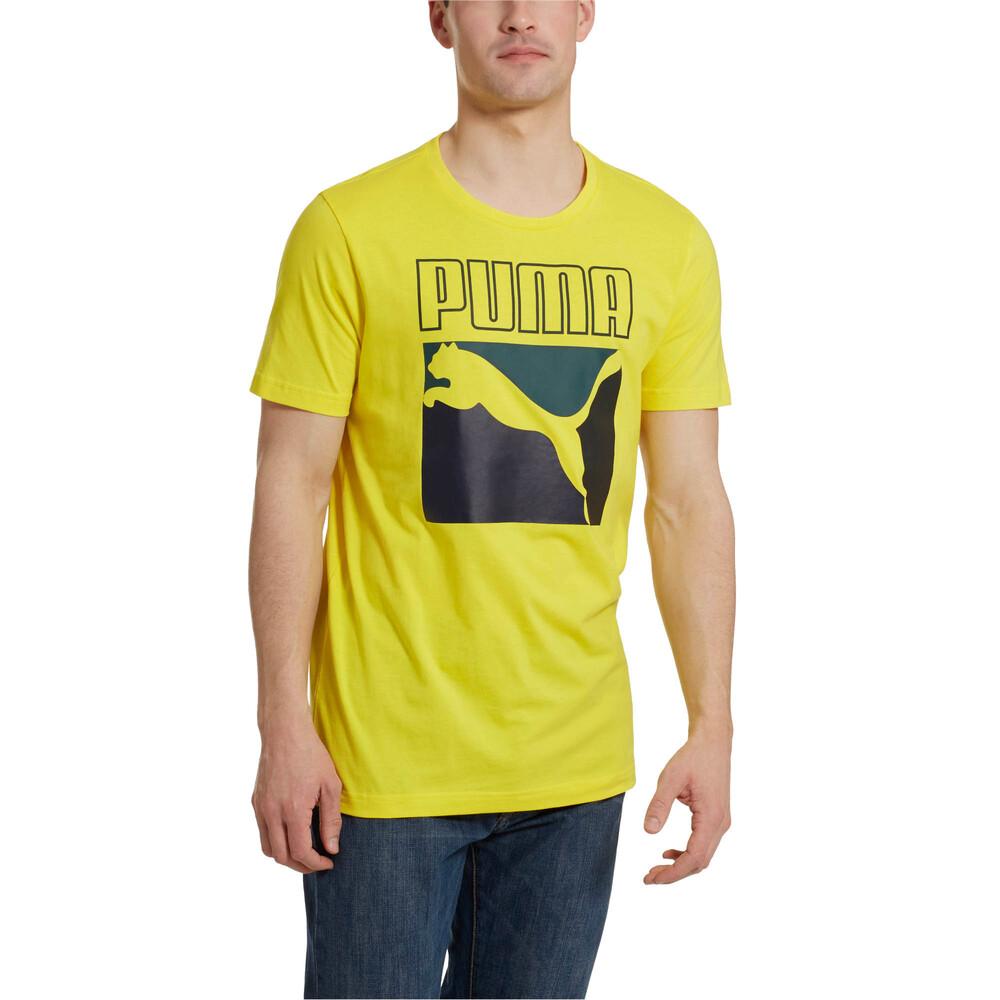 Image Puma Graphic Box Logo Men's Tee #2