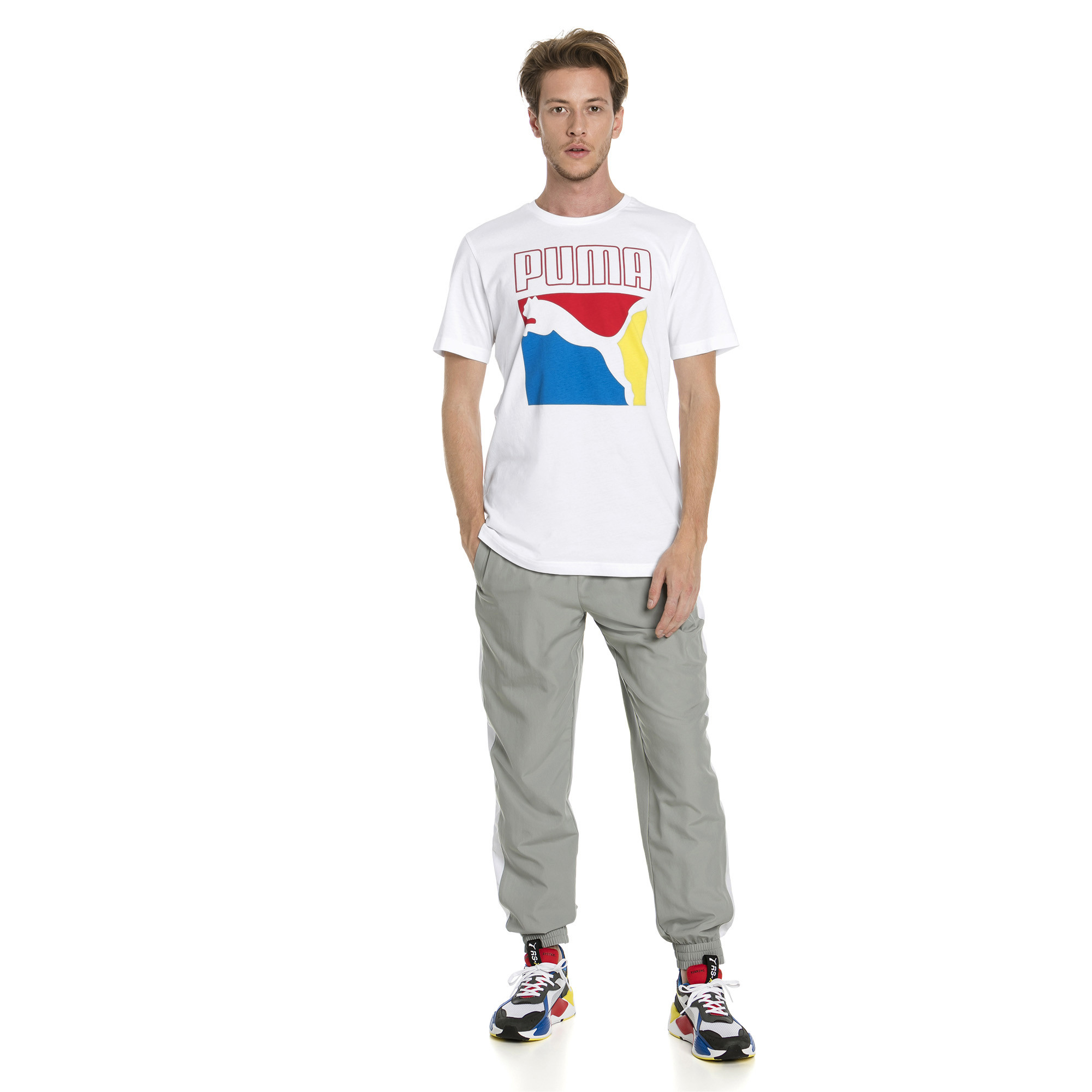 Image Puma Graphic Box Logo Men's Tee #3