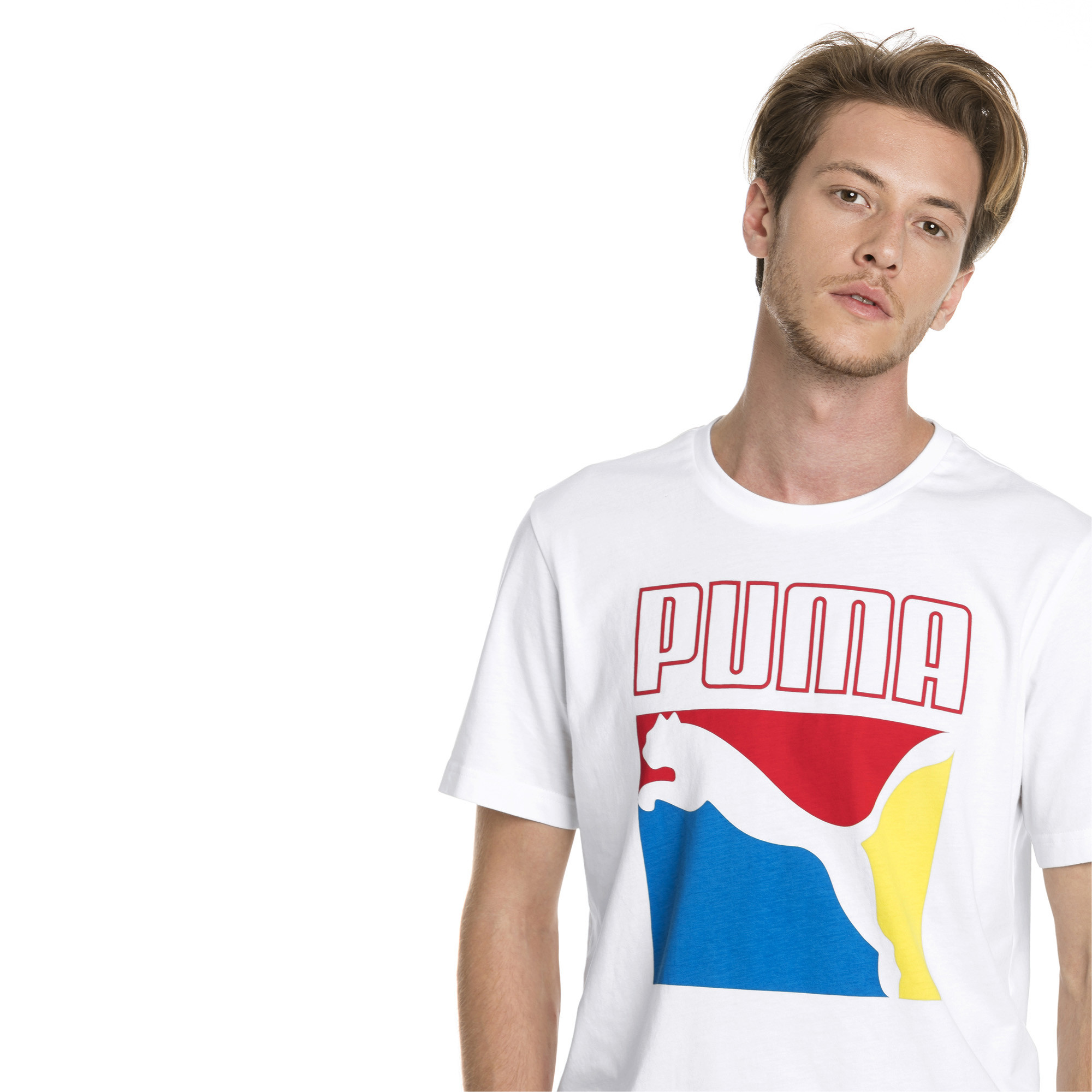 Image Puma Graphic Box Logo Men's Tee #4