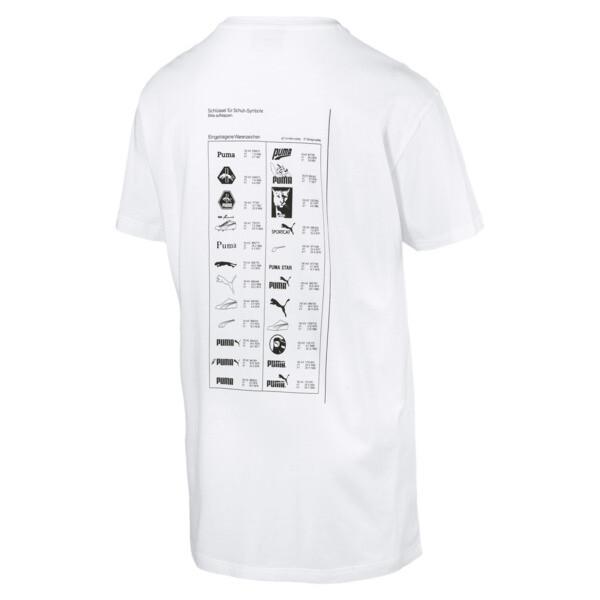 Graphic Multiple Logo Tee, Puma White, large